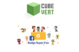 C'est le badge super fan Facebook