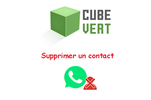 Supprimer un contact Whatsapp