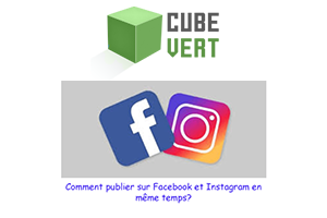 Comment partager photo Facebook sur Instagram