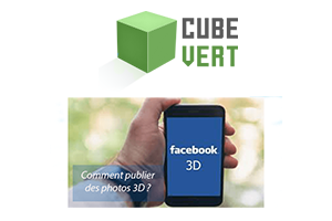 Comment publier photo 3d facebook